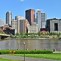 Pittsburgh From Just Outside Pnc Park by Frozen in Time Fine Art Photography