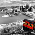 Pittsburgh From The Incline by Michelle Joseph-Long