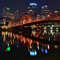 Pittsburgh Lights by Frozen in Time Fine Art Photography