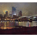 Pittsburgh Night by Ron Alderfer