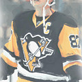 Pittsburgh Penguins Sidney Crosby 3 by Joe Hamilton