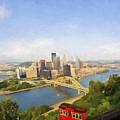 Pittsburgh Pennsylvania Incline by Jan Tyler