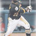 Pittsburgh Pirates Andrew Mccutchen 3 by Joe Hamilton