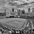 Pittsburgh Pirates Pnc Park Bw X by David Haskett II