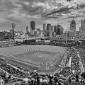 Pittsburgh Pirates Pnc Park Bw X1 by David Haskett II