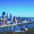 Pittsburgh Skyline by Library Of Congress