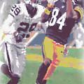 Pittsburgh Steelers Antonio Brown 1 by Joe Hamilton