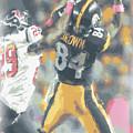 Pittsburgh Steelers Antonio Brown 2 by Joe Hamilton
