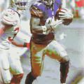 Pittsburgh Steelers Antonio Brown 3 by Joe Hamilton