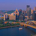 Pittsburgh,pennsylvania Skyline by Panoramic Images