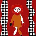 Pittypat Clown by Shirlena Rudder