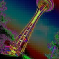 Pixel Needle by Tim Allen