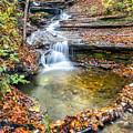 Pixley Falls State Park Lesser Falls by Karen Jorstad
