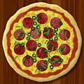 Pizza by Miroslav Nemecek