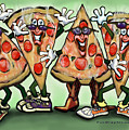 Pizza Party by Kevin Middleton