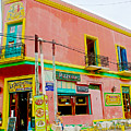 Pizzeria In La Boca Area Of Buenos Aires-argentina  by Ruth Hager