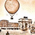 Place Du Carrousel 1878 by Helge