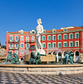 Place Massena Of Nice In France by Anastasy Yarmolovich
