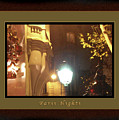 Place St Michel To Rue Saint-andre Des Arts Greeting Card And Poster by Felipe Adan Lerma