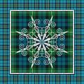Plaid Snowflakes-jp3704 by Jean Plout