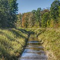 2404 - Plain Road Waterway I by Sheryl Sutter
