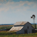 Plains Painted Barn by Jonas Wingfield