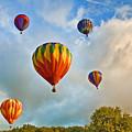 Plainville Balloons 2 by Edward Sobuta