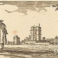 Plan General Du Chasteau Et Petit Parc De Vincennes by Isra?l Silvestre