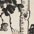 Plane Tree by Zhang Daqian