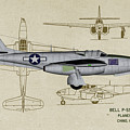 Planes Of Fame A-59 Airacomet - Profile by Tommy Anderson
