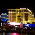 Planet Hollywood By Night by Anita Burgermeister