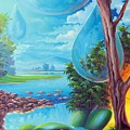 Planeta Agua by Leomariano artist BRASIL