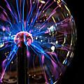 Plasma Sphere by Catherine Melvin