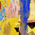 Plaster Abstract 12 By Michael Fitzpatrick by Mexicolors Art Photography