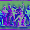 Plastic Army Man Battalion Pop by Tony Rubino