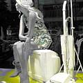 Plasticgirl In A Show-window Bruxelles - Bruxelles by Yury Bashkin
