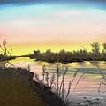 Platte River Sunrise by Daniel Smith