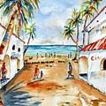 Playa Del Carmen by Carlin Blahnik CarlinArtWatercolor