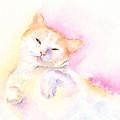 Playful Cat II by Elizabeth Lock