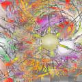 Playful Colors Of Energy by Deborah Benoit