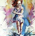 Playing Girl by Kovacs Anna Brigitta