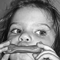 Playing Her Playdough by Gwyn Newcombe