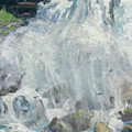 Playing In The Mist - Niagara Falls by L Diane Johnson