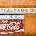 Plaza Corner Coca Cola Sign by Steven Bateson