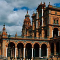 Plaza De Espana by Sally Weigand