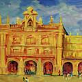 Plaza Mayor Salamanca by Danielle Hacker
