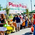 Plaza Pizza by Jeelan Clark
