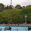 Pleasant Afternoon By Lake Pamvotis In Ioannina by Iordanis Pallikaras