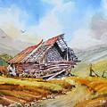 Pleasent Valley Barn by Brian Serff