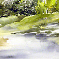 Plein Air At The Pond At Nutimik  by Joanne Smoley